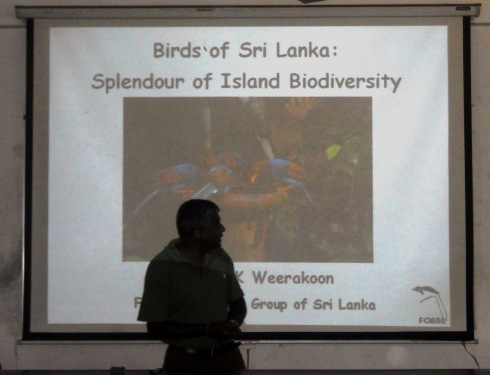 1 - Starting the lecture - Splendour of Island Biodiversity